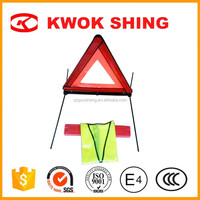 Portable Safety Reflector car emergency triangle