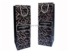 2015 eco friendly food grade cheap top sale kraft paper wine bag