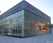 Fashiion brands promo glass window led display P15.625/15.625 outdoor transparent screen led