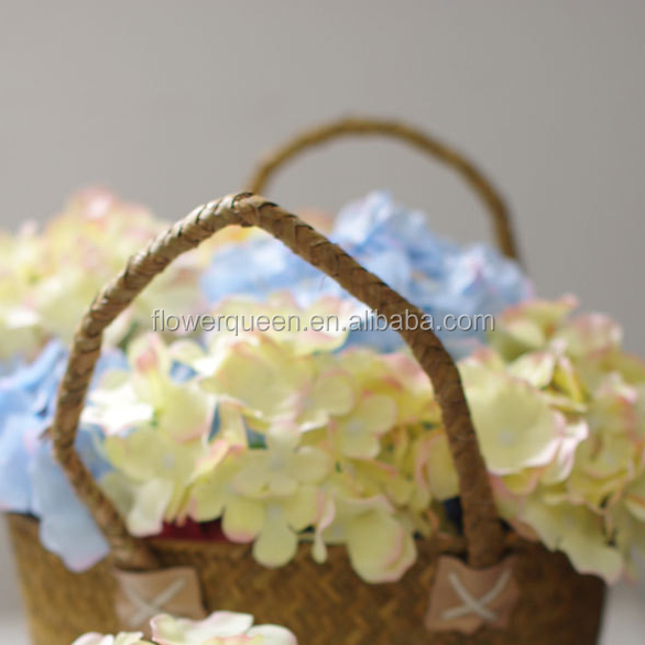 Flower Head Band Silk Flower Heads Wedding Artificial Hydrangea Heads Artificial Flower Online Wedding Supply