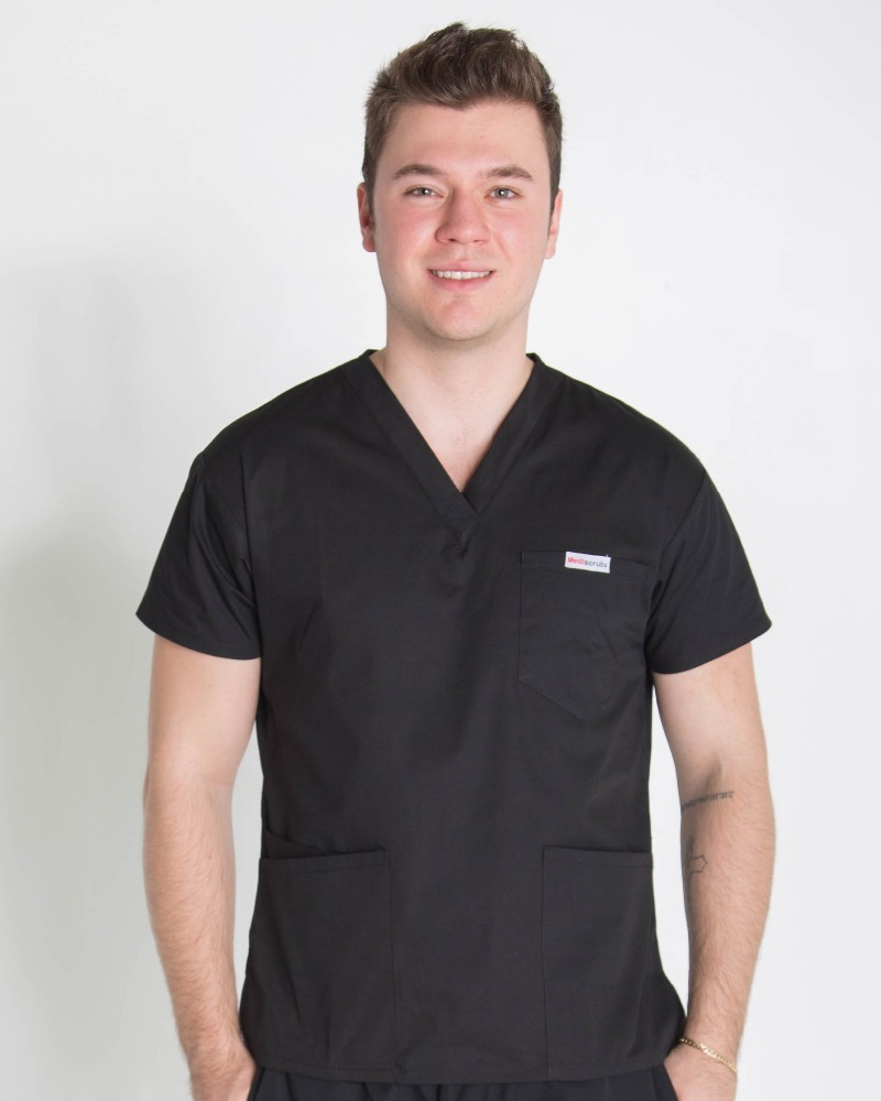 China supplier new style medical uniform male nurse hospital uniform scrub suit designs