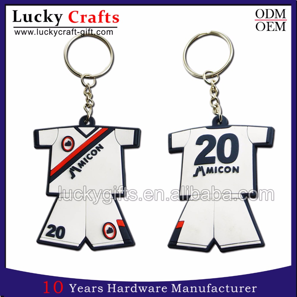 Promotional gifts custom cheap 3d soft pvc keychains