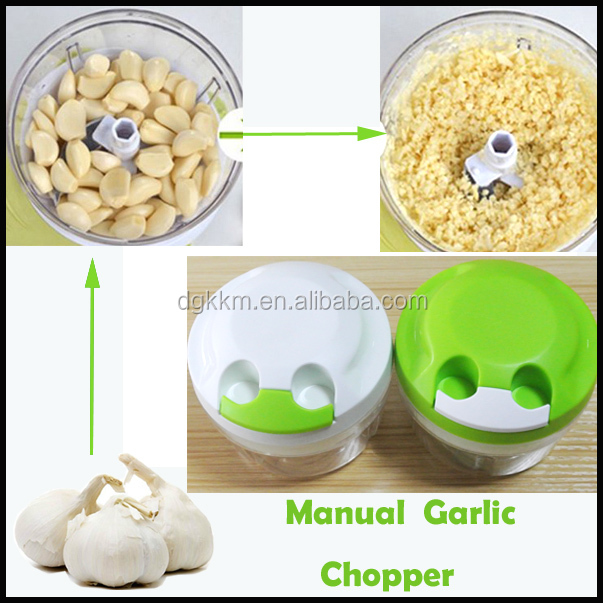 Latest Mini Pull Chopper Food Processor Hand Power Vegetable, Fruit, Garlic and Herb Slicer