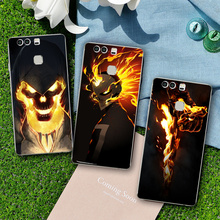 China Manufacturer Ghost Rider mobile phone case for huawei p9 case Wholesale case