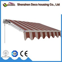 Fashion retractable awning side screen blind