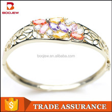2015 jewelry new product silver gold bangles picture with for women