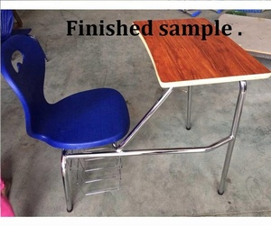 High quantity American design school desk and chair