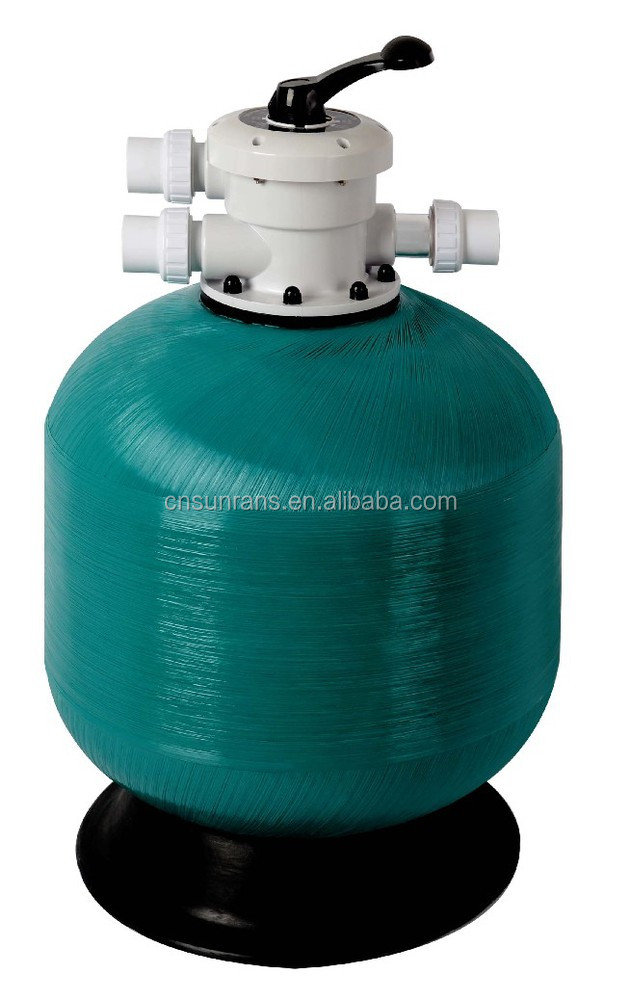 Hot Spa tub sand filter top mount Fiberglass domestic filter easy install water filter