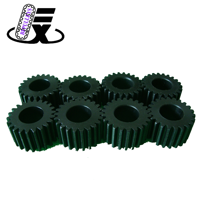 Cheap specially design carbonsteel slewing bearing external custom industrial straight spur gear