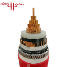 8.7-15kv XLPE insulated armored MV power cable