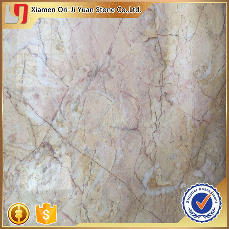 Designer top sell yellow stone marble slab