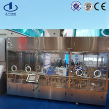 Glass vial ampoule washing Sterilizing filling capping production machine