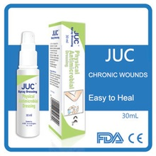 Natural antimicrobial chronic wound healing spray dressing manufacturer