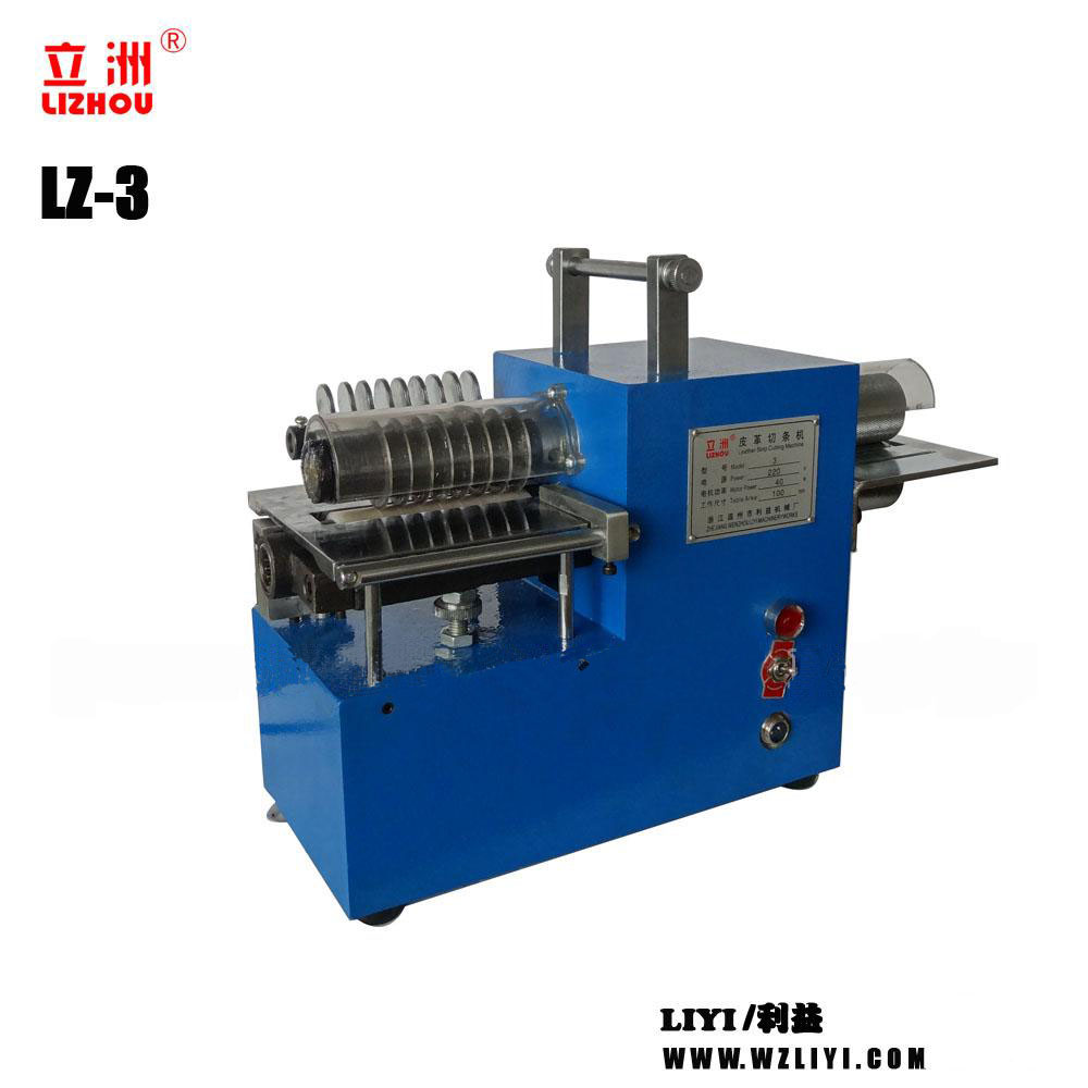 LZ-3 Leather strap strip belt cutting machine with low price