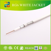 2014 hot sell 75 ohm low loss mini rg6 coaxial cable for satellite