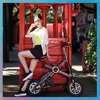 askmy x3 Adjustable high quality 12 inch wheels mini scooter for kids