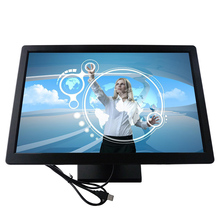 wall mounted DC 12V -24V touch screen monitors lcd 19