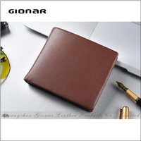 European Style Fashion Design Wholesale Leather Credit Card Holder Wallet