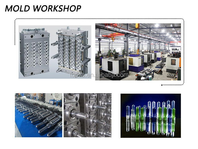 reliable quality pet bottle preform injection mold