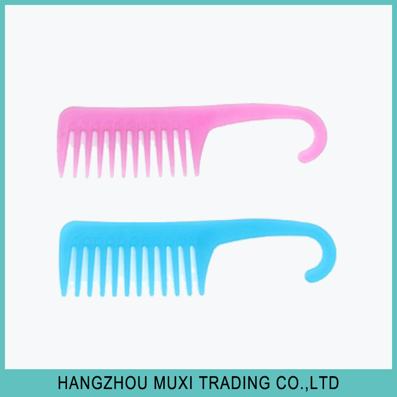 Wholesale retail cheap plastic stainless steel binding comb shinon hair straightener with comb from OEM factory