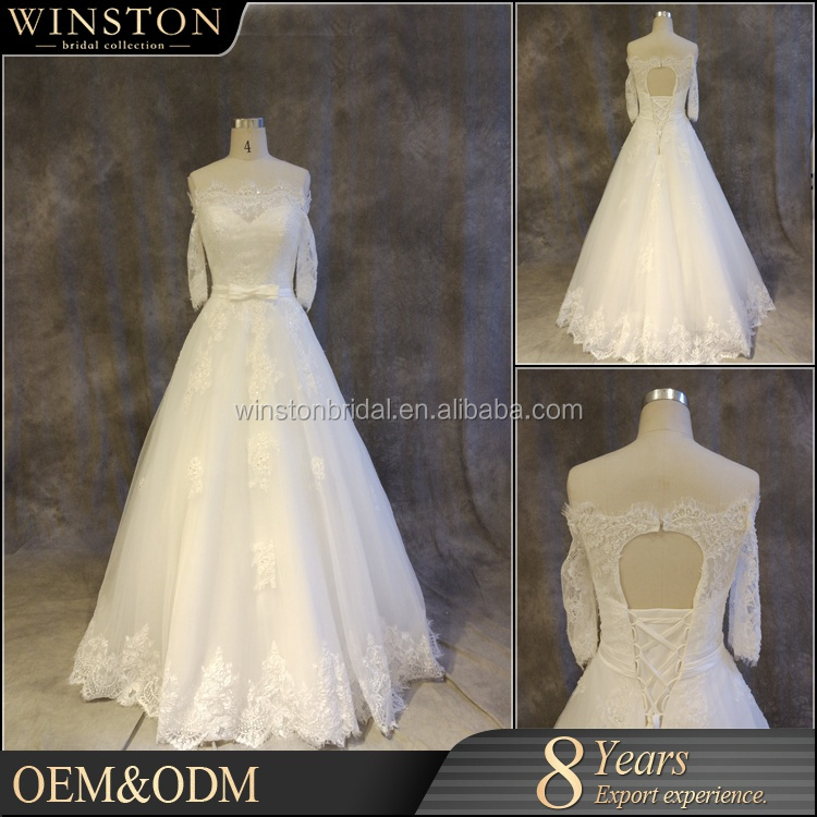 china wholesale patterns very long tail wedding dress