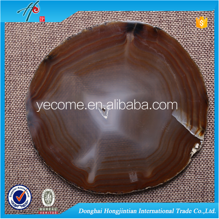 Raw agate stone price agate slab as agate coaster