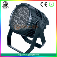 New par can stage lighting 36x3w led rgb high power led light dj party stage equipment led mini par can