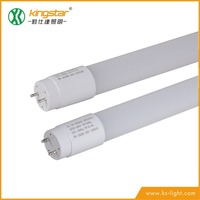 Full Nanometre Plastic TUV SAA CE approval 3 years warranty 140-150LM/W 8w 16w 20w optional Non-Rotatable T8 LED Tube lighting