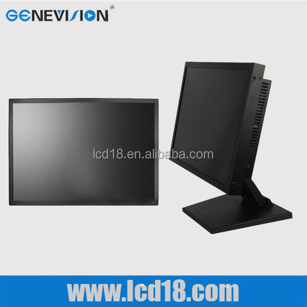 Wholesale price Black colour Metal Frame 27 inch Super thin desktop monitor Full HD SDI industrial monitor
