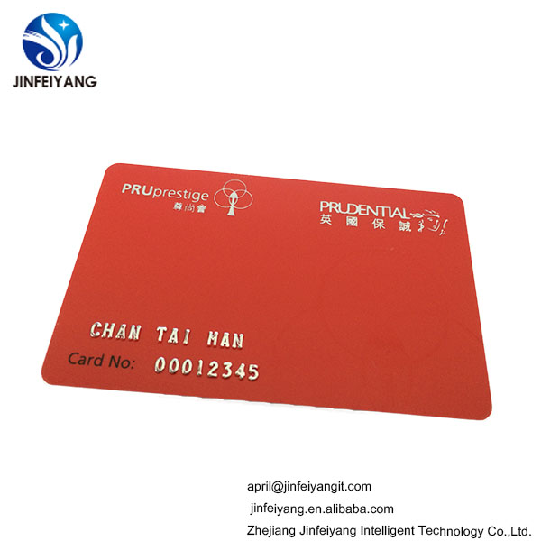 Cheap embossing business card