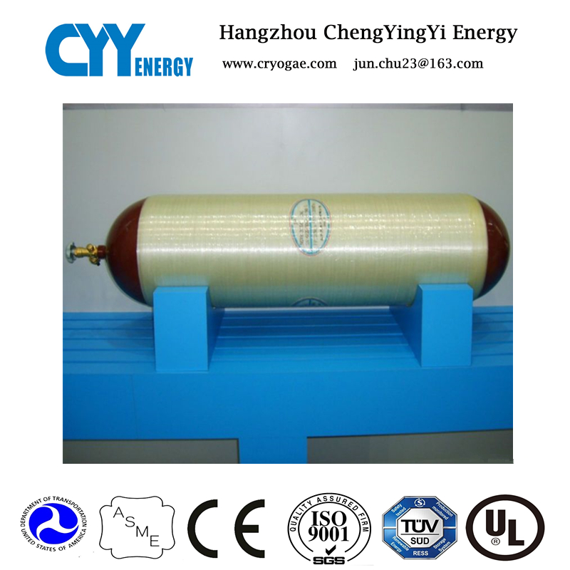 CNG type 2, steel liner cylinder, CNG cylinder used for bus