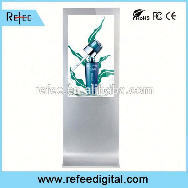 Refee 32/42/55/65 powerful pir motion sensor audio player advertising player top quality factory for mall/store/station