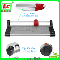 A3A4 office paper cutter rotary manual guillotine paper trimmer