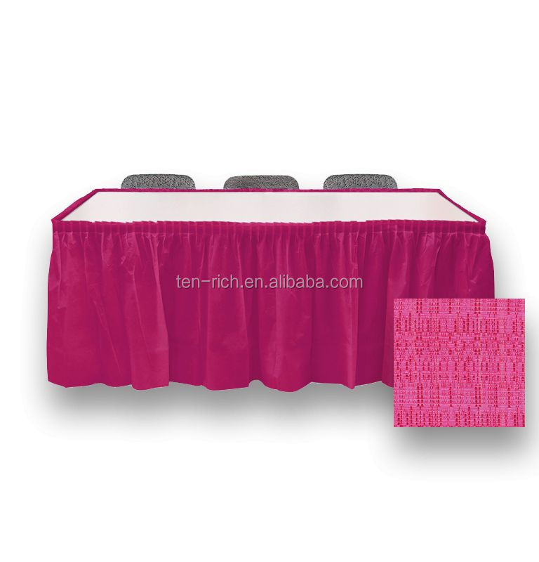 designer high end fashion wholesale 2013 table skirting designs