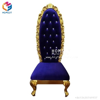 Luxury Royal Throne Dragon used fancy king chairs HY-K197