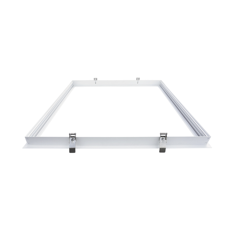 Aluminum led panel frame recessed mounted frame for panel lights
