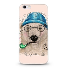 creative animal pattern mobile phone case for iphone 5 cover