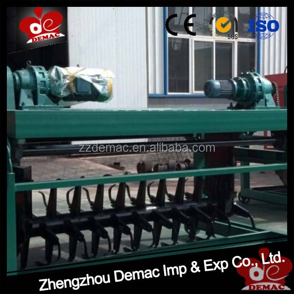 Poultry waste compost Chicken manure to pellet machine manure compost machine