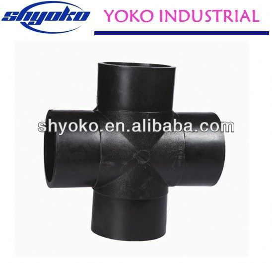 2014 factory price high quality PE pipe fitting Plastic Tubes marine based industries