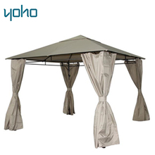Backyard metal steel polyester gazebos canopies
