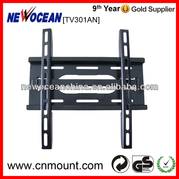 "VESA standard TV301AN fixed lcd mounting bracket for tv size 21""-42"""
