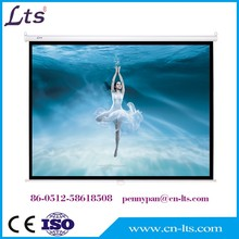 "72"" 4:3 format self lock pull down manual projection screen good price of projector screen"