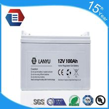 Eastman 12V 100Ah VRLA Battery with AGM GEL type.
