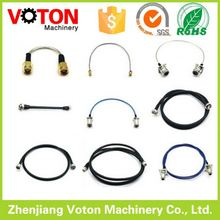 RF cable assembly/Pigtails/Jumper/Interface Cable Sma male straight to Crc9 male right angle pigtail rg174 cable 15cm