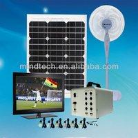 40w solar light system for home solar powered home lighting system