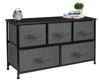 Furniture Storage Organizer Unit for Bedroom, Hallway, Closet, Office Organization 5 storage drawers