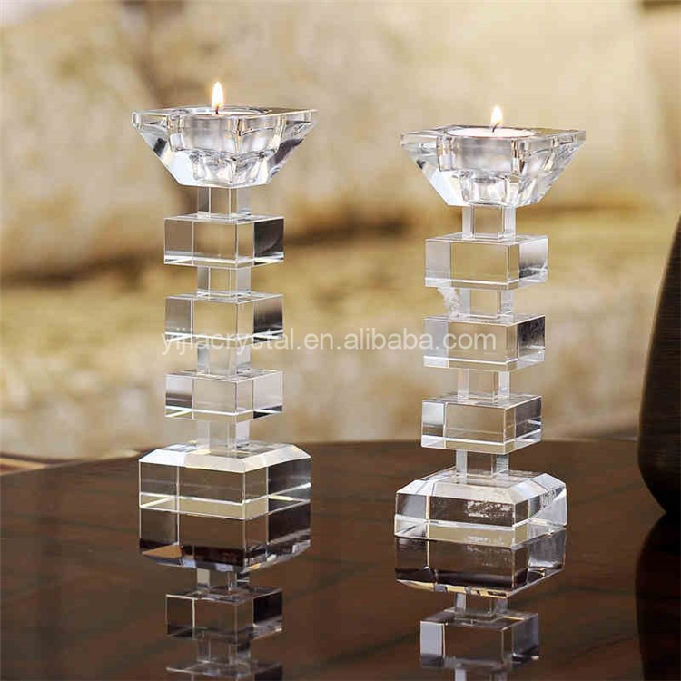 Wedding Table Centerpieces Crystal Votive Candle Holder/Candelabra