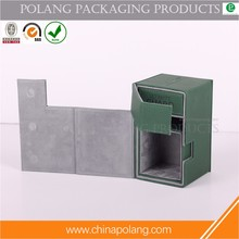 wholesale custom design packaging magnetic closure leather gift box