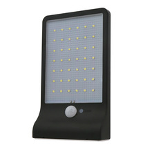 42 leds waterproof solar power wall mount outdoor motion sensor light