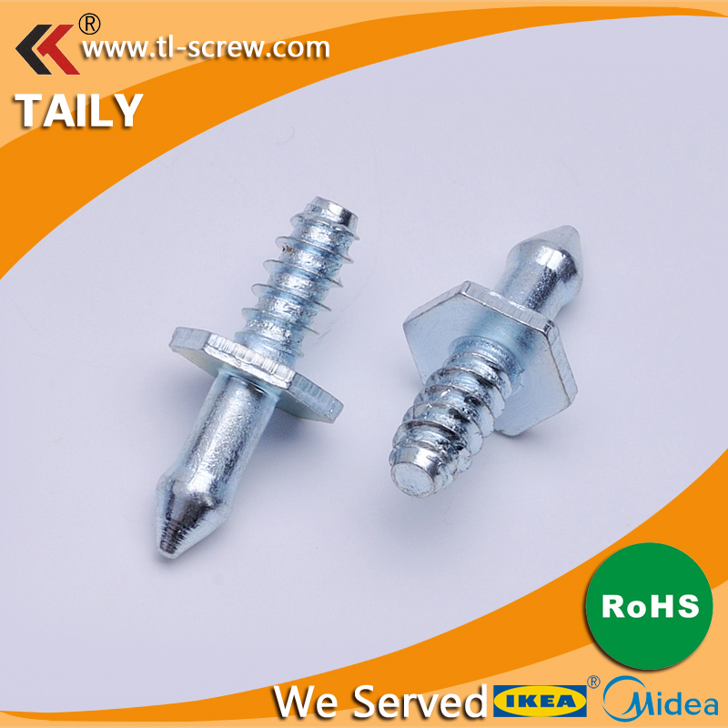 zinc plated carbon steel knurled automobile <strong>screws</strong>